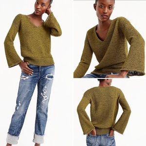 J. Crew swing sleeve sweater
